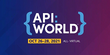 API World 2021 tickets