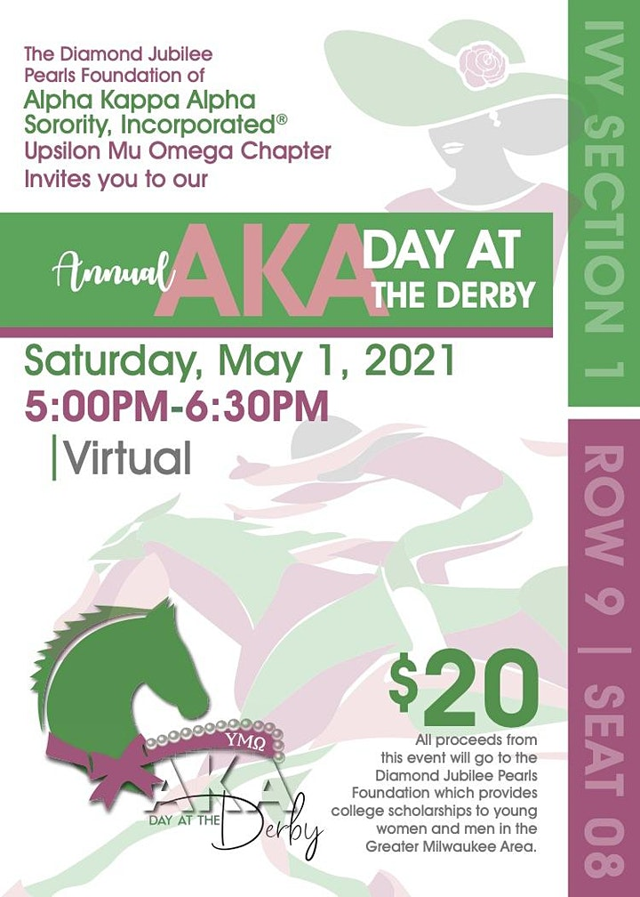 Annual AKA Day at the Derby - Virtual image