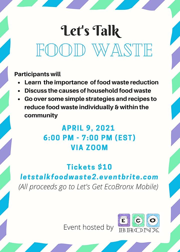 Let's Talk: Food Waste image