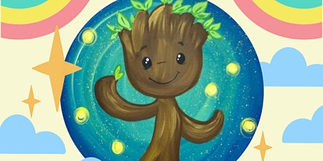 Friday $10 Paint Party: Earth day Groot tickets