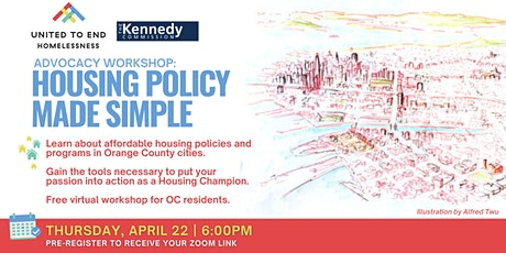 Housing Policy Made Simple: Online Advocacy Workshop tickets