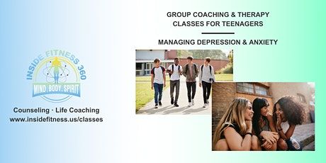 Depression & Anxiety Group Class for Teens tickets