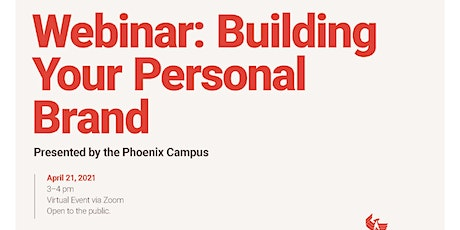Webinar: Building Your Personal Brand tickets