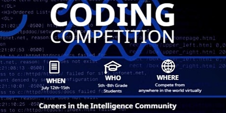 Coding Competition tickets