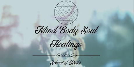 Mind Body Soul Healings Reiki Level 1 Certification tickets