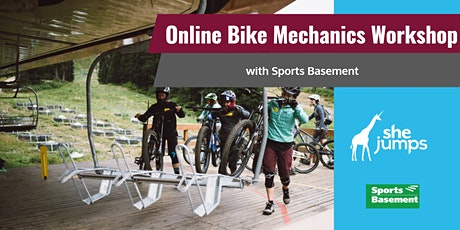 SheJumps and Sports Basement Basic Bike Mechanics Workshop entradas