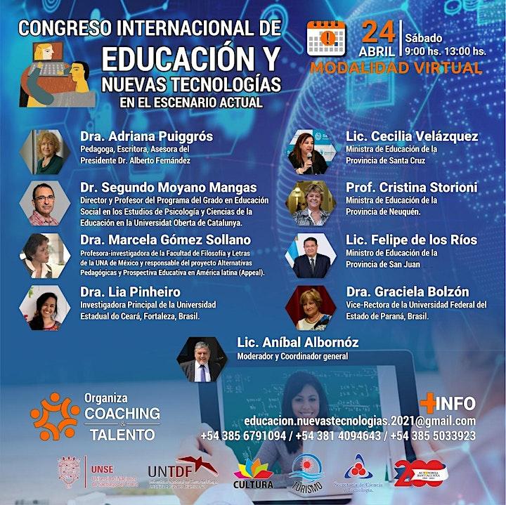 Imagen de CONGRESO INTERNACIONAL DE EDUCACIÓN Y NUEVAS TECNOLOGÍAS