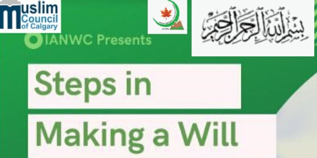 Steps in Making a Will tickets