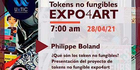Expo4art Road Map del proyecto de Token no fungible entradas