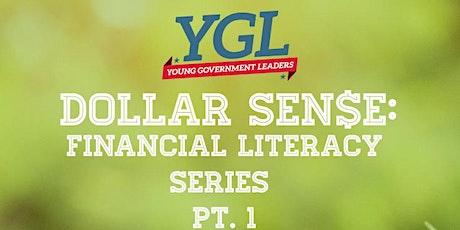 Dollar Sen$e: Financial Literacy Series  Part 1 tickets