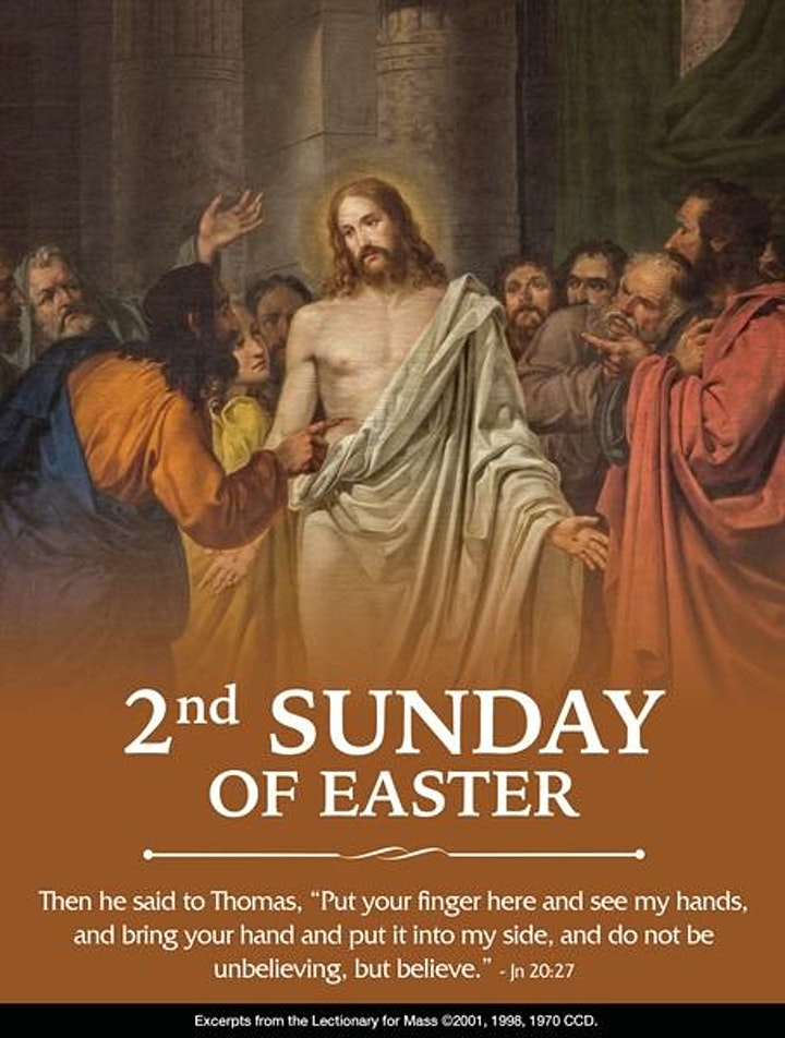 Easter Season, 5:00PM Mass, April 10th image