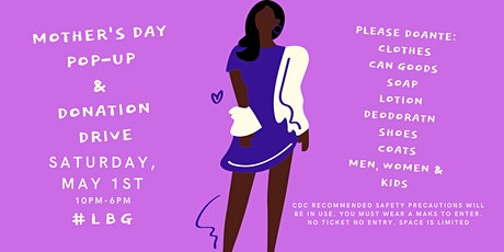 #LBG Mother's Day Pop-Up tickets