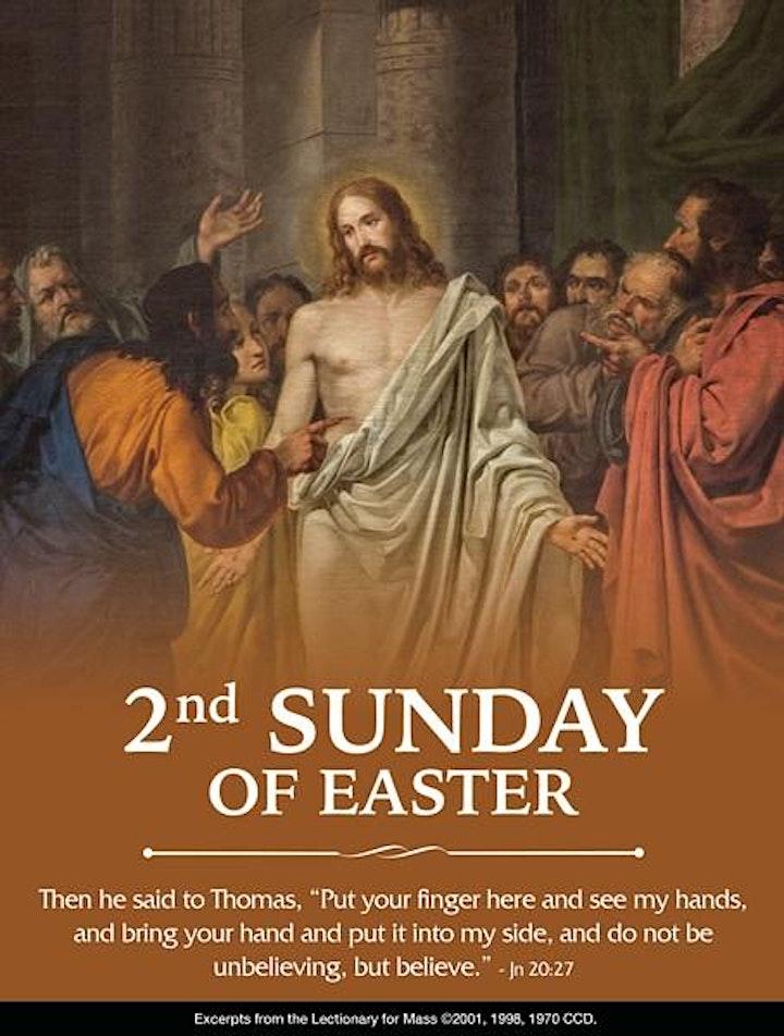 Easter Season, 9:00AM Mass, April 11th image