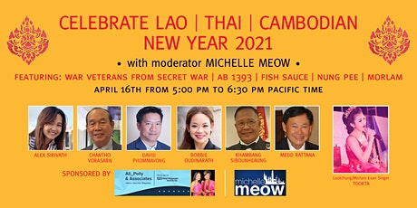 Celebrate Lao New Year 2021 tickets