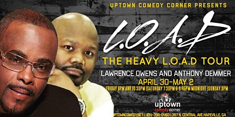 The Late Show Hosted by DeMakco Headlining Lawrence Owens & Anthony Demmer tickets