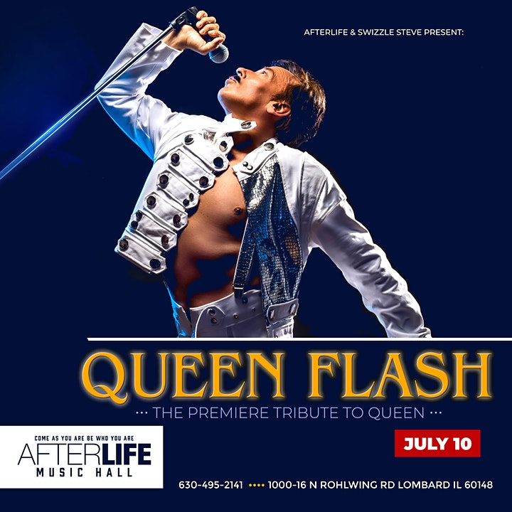 QUEEN FLASH • A Tribute To Queen image