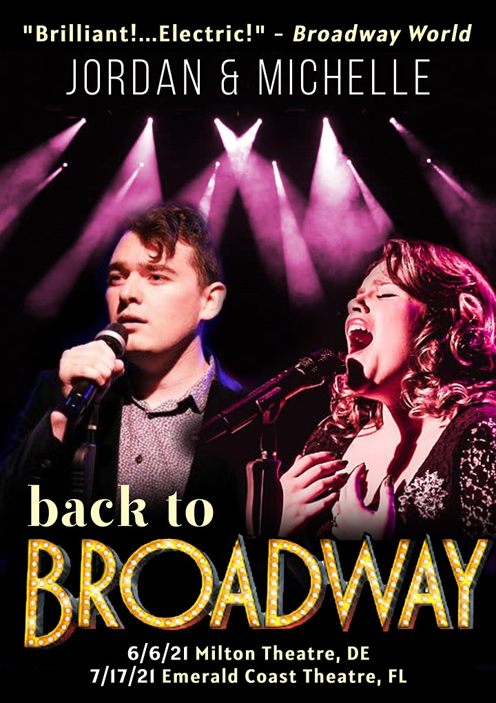 Back to Broadway! Featuring: Jordan Wolfe & Michelle Dowdy image