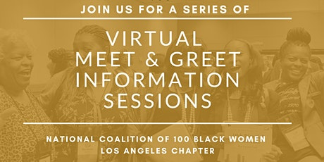 The Coalition of 100 Black Women Los Angeles - Meet & Greet Info Session tickets