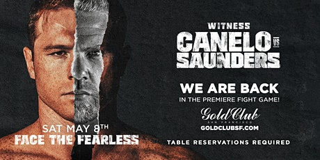 Watch Canelo vs Saunders Live! tickets