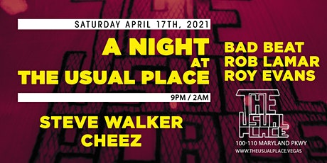 A Night at The Usual Place tickets