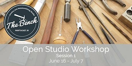 Summer Open Studio - Jewelry Workshop (Session 1) tickets
