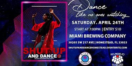 """Shut Up And Dance"" Silent Headphone Event tickets"