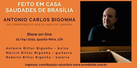 Feito em Casa - Saudades de Brasília 20 anos ingressos