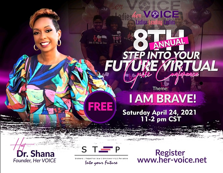 STEP into your Future Girls Conference 2021 image
