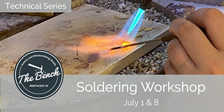 Soldering Techniques - Jewelry Workshop tickets