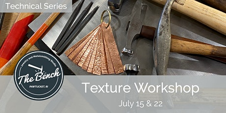 Texturing and Forming Techniques - Jewelry Workshop tickets