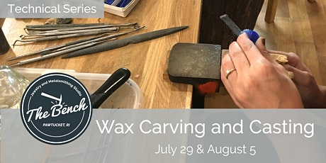 Wax Carving Techniques -  Jewelry Workshop tickets