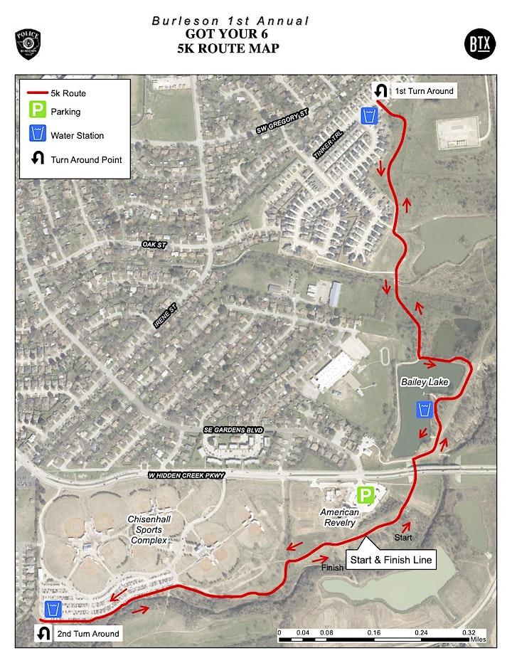 Got Your Six  5k and 1 mile Fun Run/Walk image