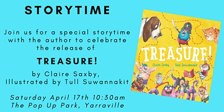 PIRATE STORYTIME! - Treasure by Claire Saxby tickets