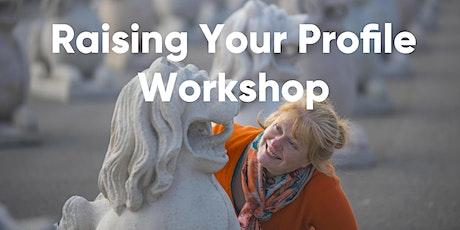 [Marketing Workshop 1]: Raising your profile tickets