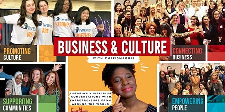 Business & Culture with CharisMaggie TV tickets