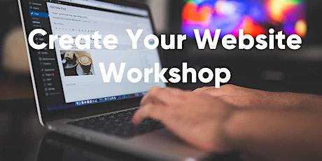 [Marketing Workshop 2]: Create a website tickets