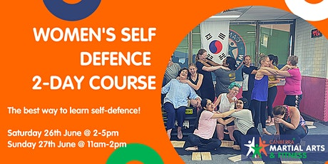 2-Day Women's Self Defence Course - Beginners tickets