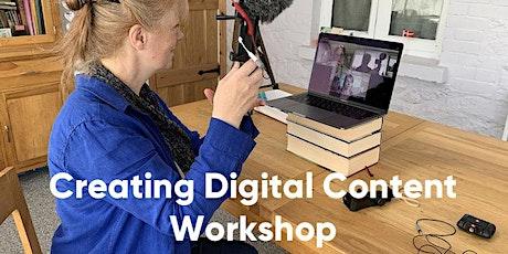 [Marketing Workshop 3]: Creating digital content tickets