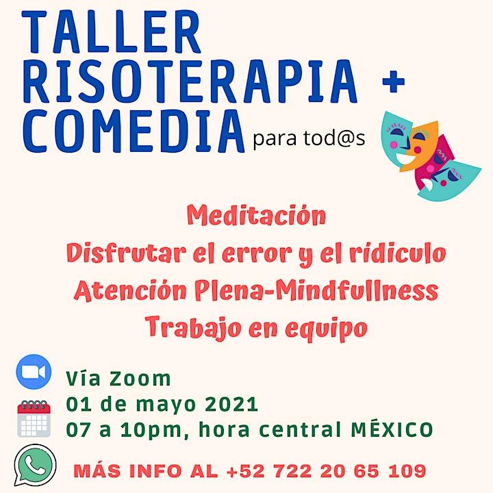 Imagen de taller RISOTERAPIA + COMEDIA
