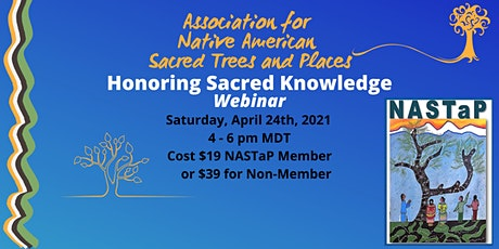 Honoring Sacred Knowledge tickets