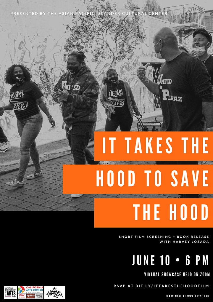 IT TAKES THE HOOD TO SAVE THE HOOD: Short Film Screening & Book Release image