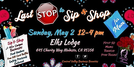 Last STOP to Sip & Shop for MOM tickets