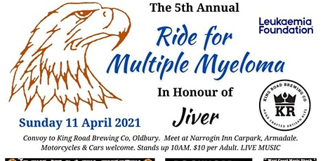 '5th Annual Ride for Jiver - Multiple Myeloma' tickets
