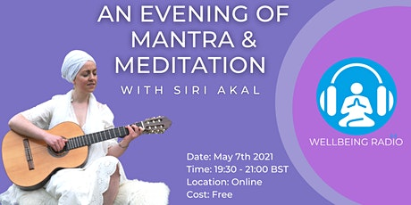 An Evening Of Mantra & Meditation With Siri Akal Tickets