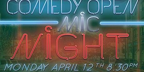 Comedy Open Mic Night at The Grand El Cajon  - 4/12 - 8:30 pm tickets