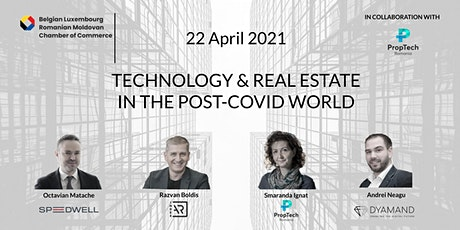 Technology and Real Estate in the post-Covid world tickets