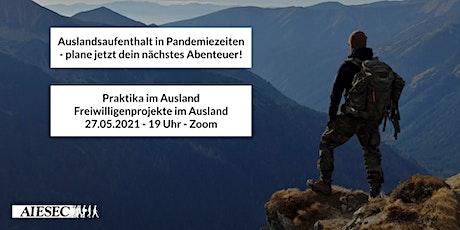 Auslandsaufenthalt in Pandemiezeiten - plane jetzt dein nächstes Abenteuer! Tickets