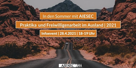 In den Sommer mit AIESEC - Praktika und Freiwilligenarbeit im Ausland Tickets
