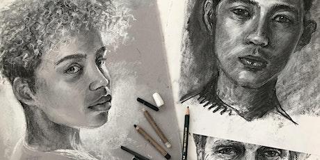 Zoom Drawing Class 6, with Rebecca de Mendonça.  Portraits  part1 tickets