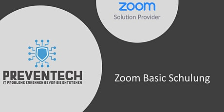 Zoom Schulung Basic Tickets